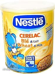 Nestle Cerelac - Wheat & Milk