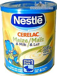 Nestle Cerelac - Maize (corn) & Milk