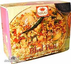 Nirav Instant Bhel Puri with Chutneys