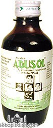 Adusol Ayurvedic Cough Syrup with Tulsi - 100 ml