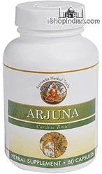 Arjuna - Stress Reliever & Cardiac Tonic (Sandhu's Ayurveda) - 60 Capsules