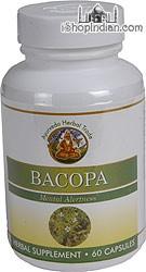 Bacopa - Memory & Alertness (Sandhu's Ayurveda) - 60 Capsules