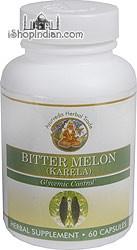 Karela / Bitter Melon - Glycemic & Diabetes Control (Sandhu's Ayurveda) - 60 Capsules