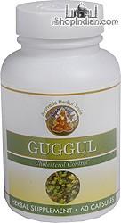 Guggul - Cholesterol Control (Sandhu's Ayurveda) - 60 Capsules
