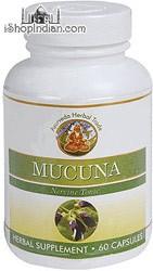 Mucuna - Nerve Tonic (Sandhu's Ayurveda) - 60 Capsules