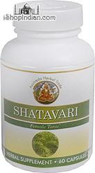 Shatavari - Female Tonic (Sandhu's Ayurveda) - 60 Capsules