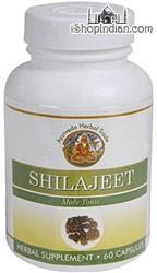 Shilajeet - Anti-Aging Herb (Sandhu's Ayurveda) - 60 Capsules