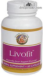 Livofit - Liver Support (Sandhu's Ayurveda) - 60 Capsules