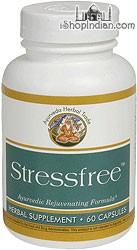 Stressfree -  Rejuvenative Tonic (Sandhu's Ayurveda) - 60 Capsules