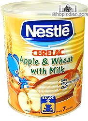 Nestle Cerelac - Apple, Wheat & Milk