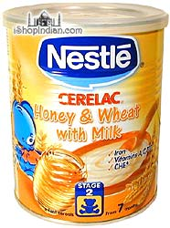Nestle Cerelac - Honey, Wheat & Milk