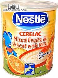 Nestle Cerelac - Mixed Fruits, Wheat & Milk