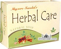 Mysore Sandal Herbal Care Natural Soap