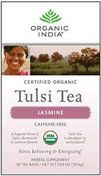 Organic India Tulsi Jasmine Tea