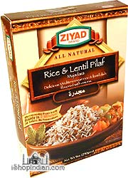 Ziyad Rice & Lentil Pilaf / Mujadara (Ready-to-Eat)