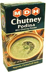 MDH Podina (mint) Chutney Powder