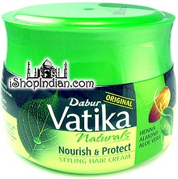 Dabur Vatika Naturals Nourish & Protect Styling Hair Cream