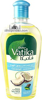 Dabur Vatika Enriched Coconut Oil with Castor & Henna