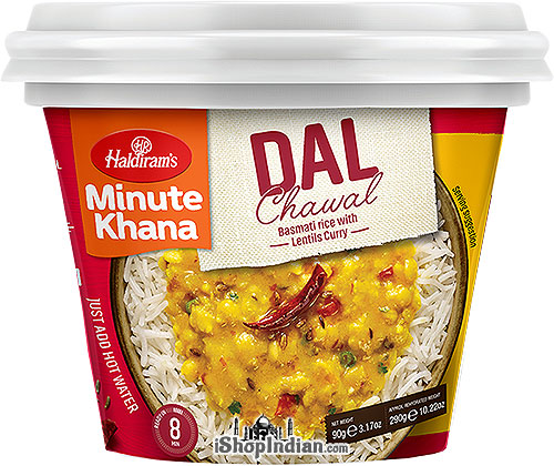 Haldiram's Instant Dal Chawal - Basmati Rice with Lentils Curry
