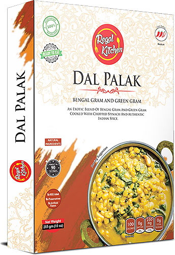 Regal Kitchen Dal Palak (Ready-to-Eat) - BUY 2 GET 1 FREE!
