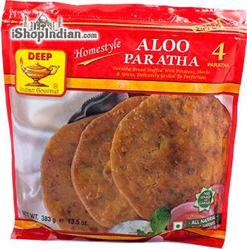 Deep Aloo Paratha - 4 Pcs (FROZEN)