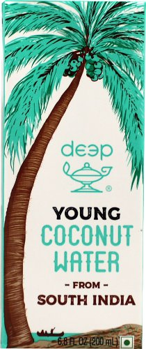 Deep Young Coconut Water from South India - 6.8 fl oz