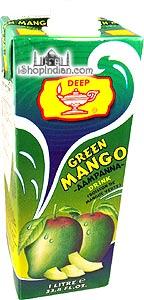 Deep Green Mango (Aampanna) Drink