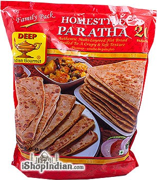 Deep Homestyle Paratha - 20 Pcs - Family Pack (FROZEN)