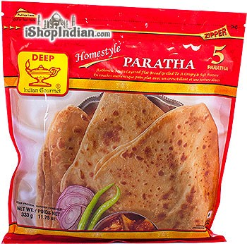Deep Homestyle Paratha - 5 Pcs (FROZEN)
