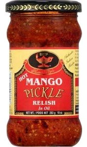 Deep Hot Mango Pickle / Relish