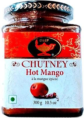 Deep Hot Mango Chutney