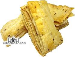 Deep Khari Biscuits (Puff Pastry) - Jeera (Cumin)