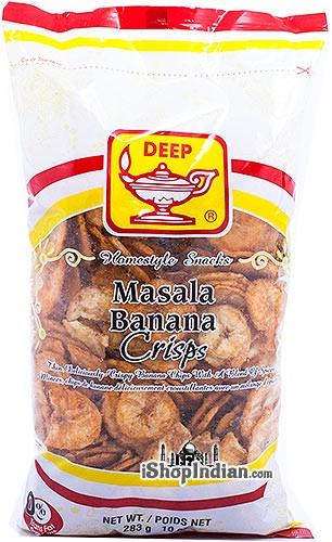 Deep Masala Banana Crisps (Chips)