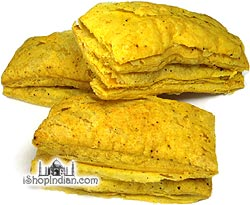 Deep Khari Biscuits (Puff Pastry) - Masala