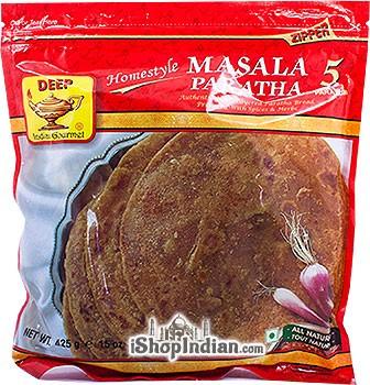 Deep Masala Paratha - 5 Pcs (FROZEN)