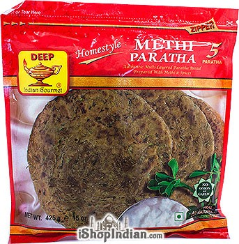 Deep Methi Paratha - 5 Pcs (FROZEN)