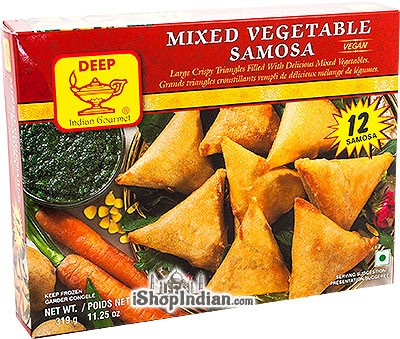 Deep Mixed Vegetable Samosa - 12 pcs (FROZEN)