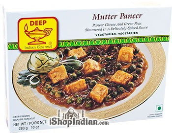 Deep Mutter Paneer (FROZEN)