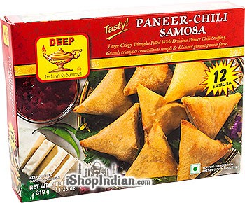 Deep Paneer Chili Samosa - 12 pcs (FROZEN)