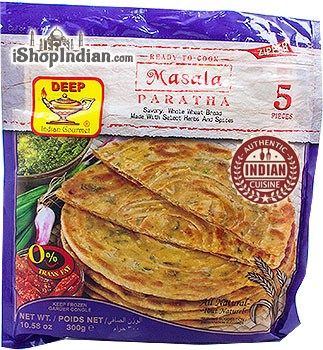 Deep Ready to Cook - Masala Paratha - 5 pcs (FROZEN)