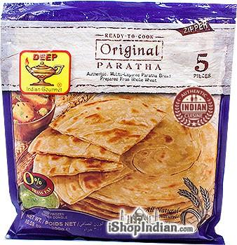 Deep Ready to Cook - Original Paratha - 5 pcs (FROZEN)