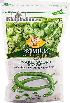 Deep Snake Gourd - Ring Cut (FROZEN)