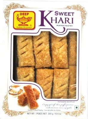 Deep Sweet Khari (Puffed Pastry)