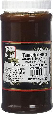 Deep Tamarind Date Chutney - 16 oz.
