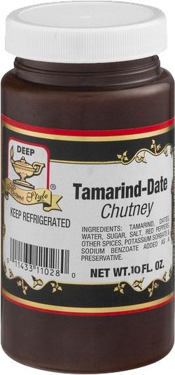 Deep Tamarind Date Chutney - 10 oz.