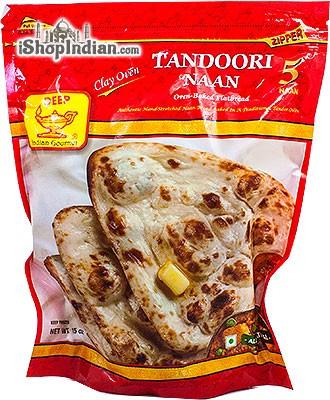 Deep Tandoori Naan - 5 pcs (FROZEN)