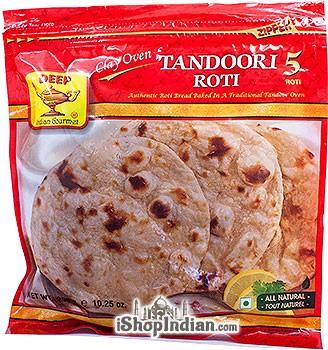 Deep Tandoori Roti - 5 pcs (FROZEN)
