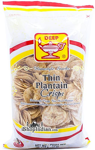Deep Thin Plantain Crisps (Chips)