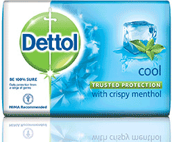Dettol Anti-Bacterial Soap - Cool - With Crispy Menthol