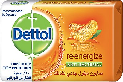 Dettol Anti-Bacterial Soap - Re-Energize